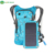 Light Weight Waterproof Design Solar Backpack For Cycling With Water Bag 6.5W Solar Panel Charger Mobile Phones