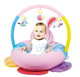Multi-function inflatable soft activity plush baby play mat