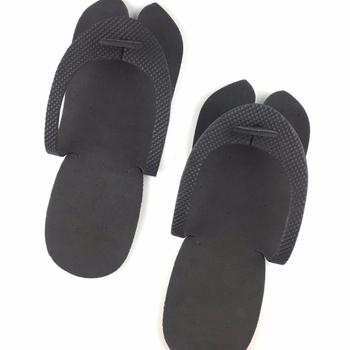 79163f15b Black Disposable Pedicure Flip Flop Eva Slippers Foam Slippers - Buy ...
