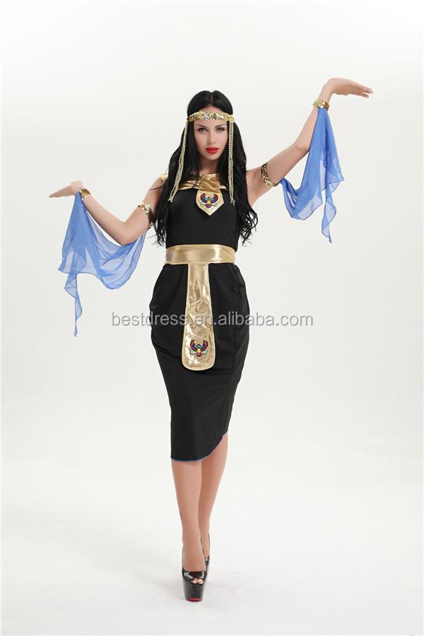 EGYPTIAN GODDESS CLEOPATRA ADULT WOMENS FANCY DRESS HALLOWEEN COSTUME