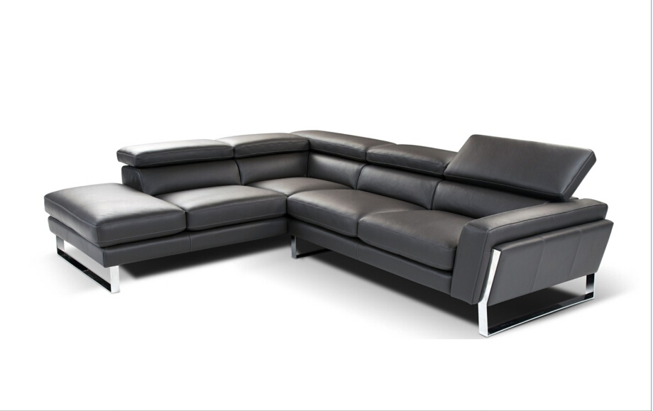 l shape modern sofa and modern sofa set living room furniture with Steel  #798ang