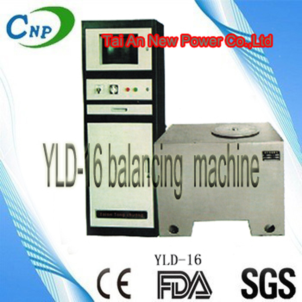 YLD series vertical balancing machine fits for balancing adjustment for parts with disc shape