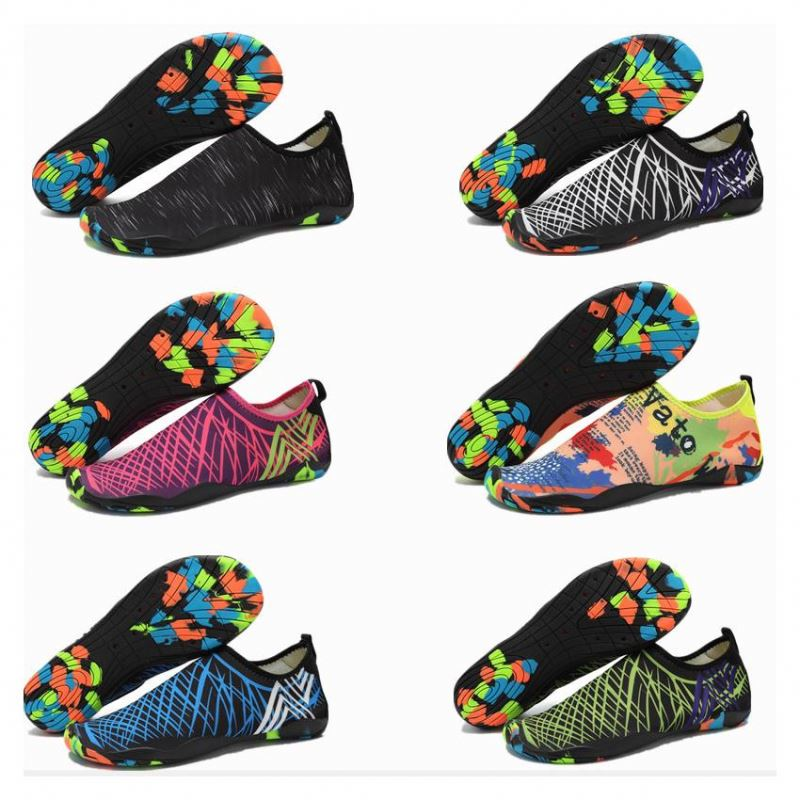 wholesale low price water shoes aqua neoprene surfing socks swim shoes for men
