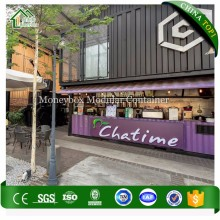 Low Cost Shipping Container Prefabricated Shops Stores