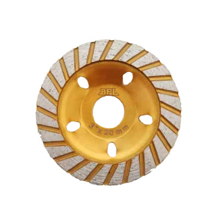 3 Inch Diamond Cutting Cup Grinding Wheel for Granite