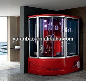 steam shower room with sauna with fridge with unitshower enclosure uk