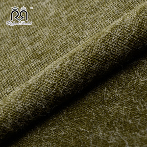 Competitive price high quality knitted beautiful soft mohair wool fabric