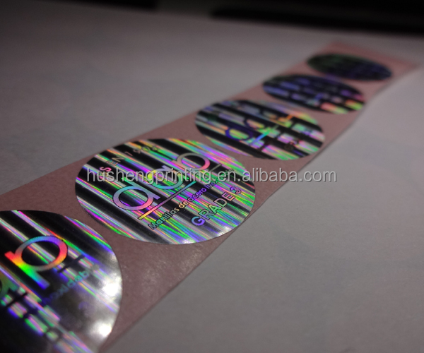 Customized Professional Good price of custom 3d hologram sticker labels/security paper wholesale online