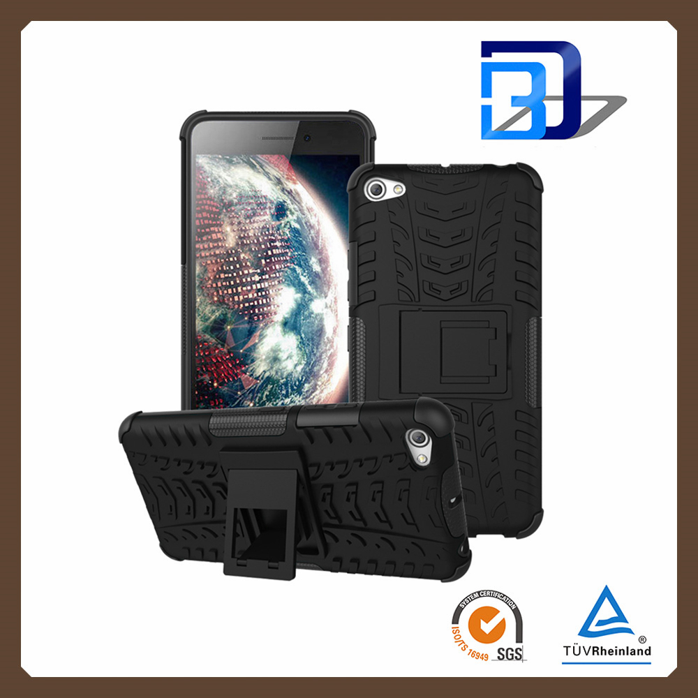 For Lenovo S60 Case, Shockproof Heavy Duty Hard Hybrid Rubberized Kickstand Cheap Mobile Phone Cases For Lenovo S60