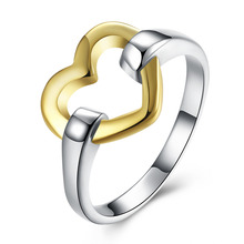 New design brass two tone boxing ring jewelry