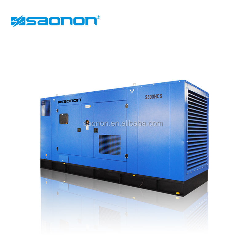 low rpm 67kVA genset silent type with engine