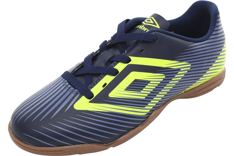 Get Quotations · Umbro Men s Speed II Black Lime Blue Indoor Soccer  Sneakers Shoes c51341f58c607