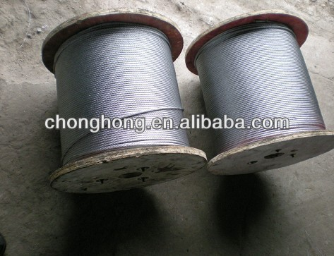 "5/16"" Galvanized Cable Zip Line Cable"
