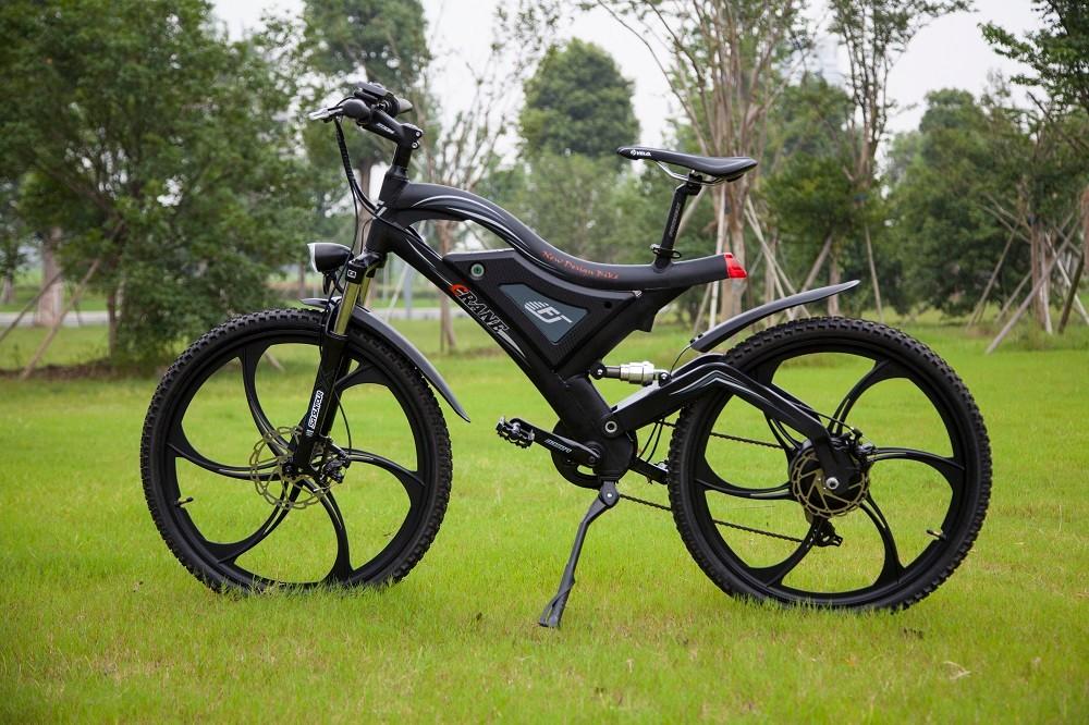 cc6861450fa High quality full suspension electric mountain bike,e bicycle mountain