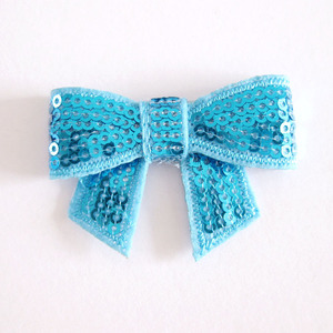 Hot Bling Bowknot For DIY Hair Ornament and Fashion Accessories, 12 colors for choose