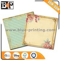 DIY Scrapbooking Custom Design Printing 12X12 Scrapbook Paper