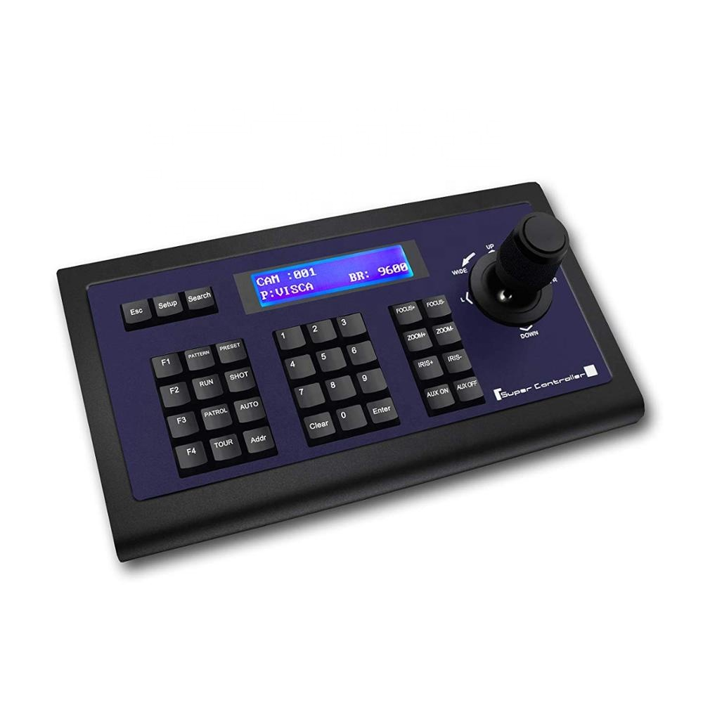 TENVEO KZ1 Conference Keyboard Controller Joystick PTZ Keyboard Controller фото