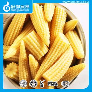 425ml Canned Baby Corn Whole in water in tins
