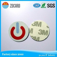 Factory Offer 13.56 RFID Sticker Made by Paper or PET Can Print Logo and Write Data