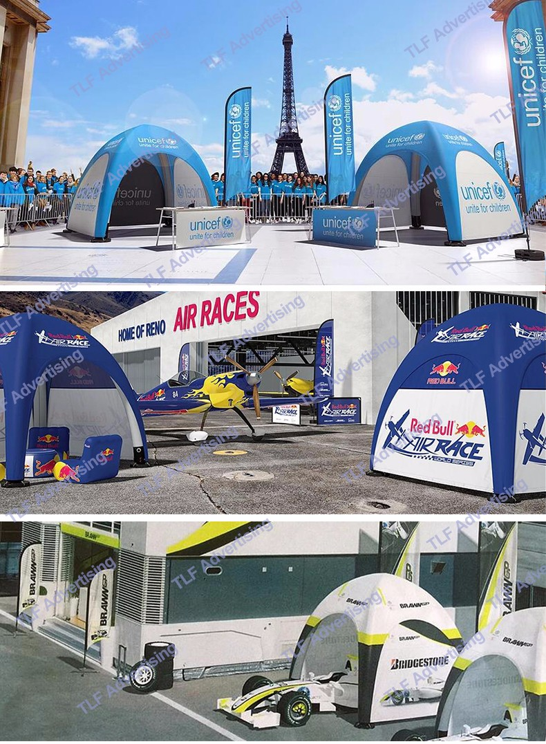 Outdoor Printed Inflatable Running Race Sport Entrance Inflatable Finish Line Arch
