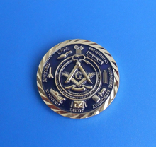 free and accepted masons 150th anniversary masonic challenge coins