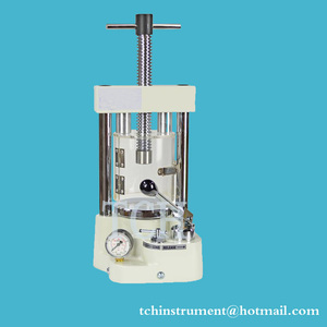 Laboratory used 15T Compact Hydraulic Pellet Press for Glove-box YLJ-15