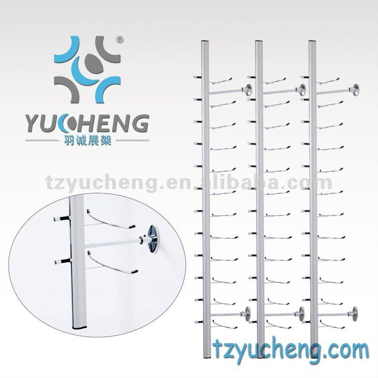 [YUCHENG]cheap optical frame Wall Mount Eyeglasses Display rod Y019-14