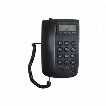 Guangdong Newest Product Caller ID Desktop Wall Mountable Landline Telephone for Europe Market with OEM/ODM Services