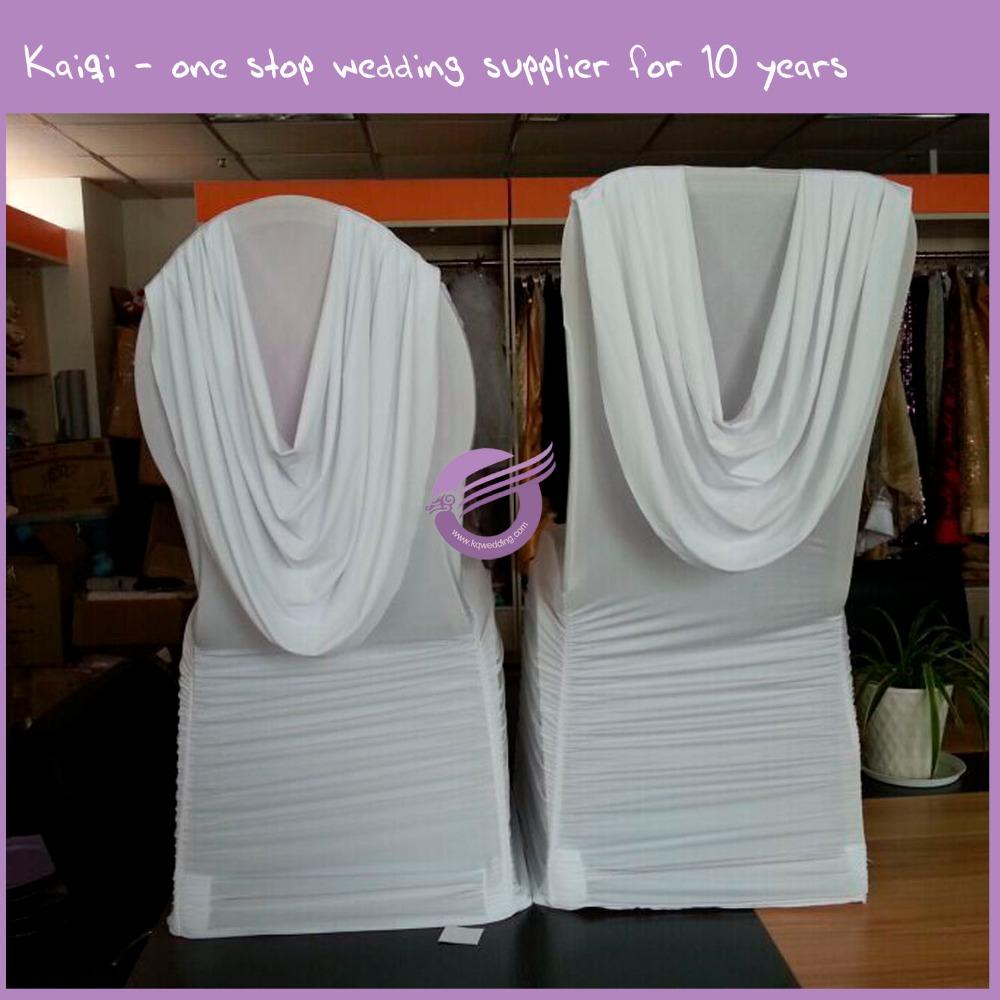 ka419 wholesale cheap wedding ruffled skirt spandex chair covers view