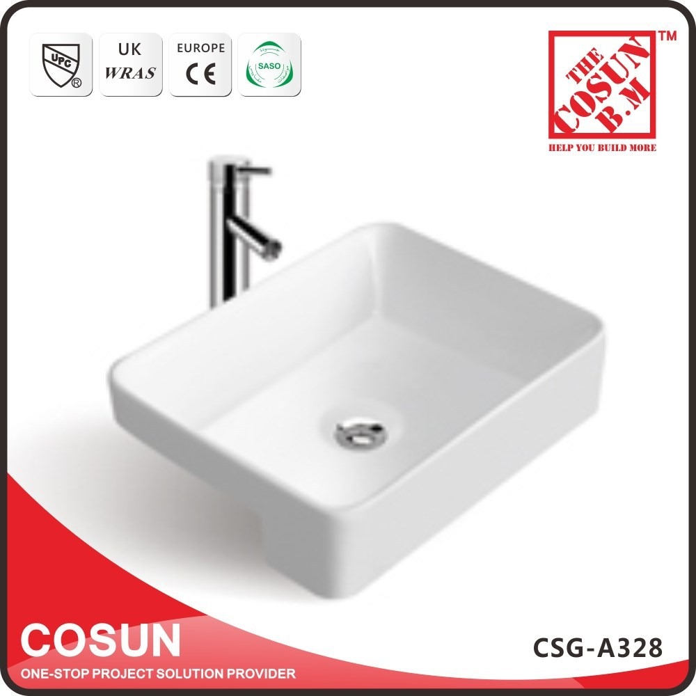 Mini Semi Recessed Hand Washing Basin Traditional