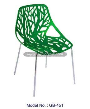 Modern Plastic Chairs Furniture, Green Fancy Plastic Chair, Green Home Chair  Furniture