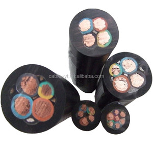 3x10mm2 3x16 3x25 3x35 3x50 3x70 3x95mm2 3 core deep well pump submersible cable