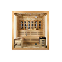 Hot sale infrared sauna shower combination