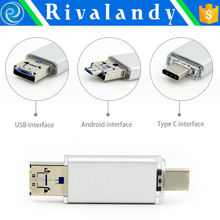 Mini portable smart MicroSD card reader