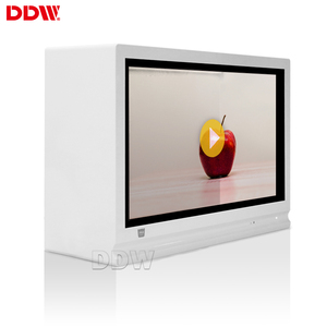 Factory Price 43 inch transparent LCD showcase display for boutique fashion store touch screen transparent lcd display screen