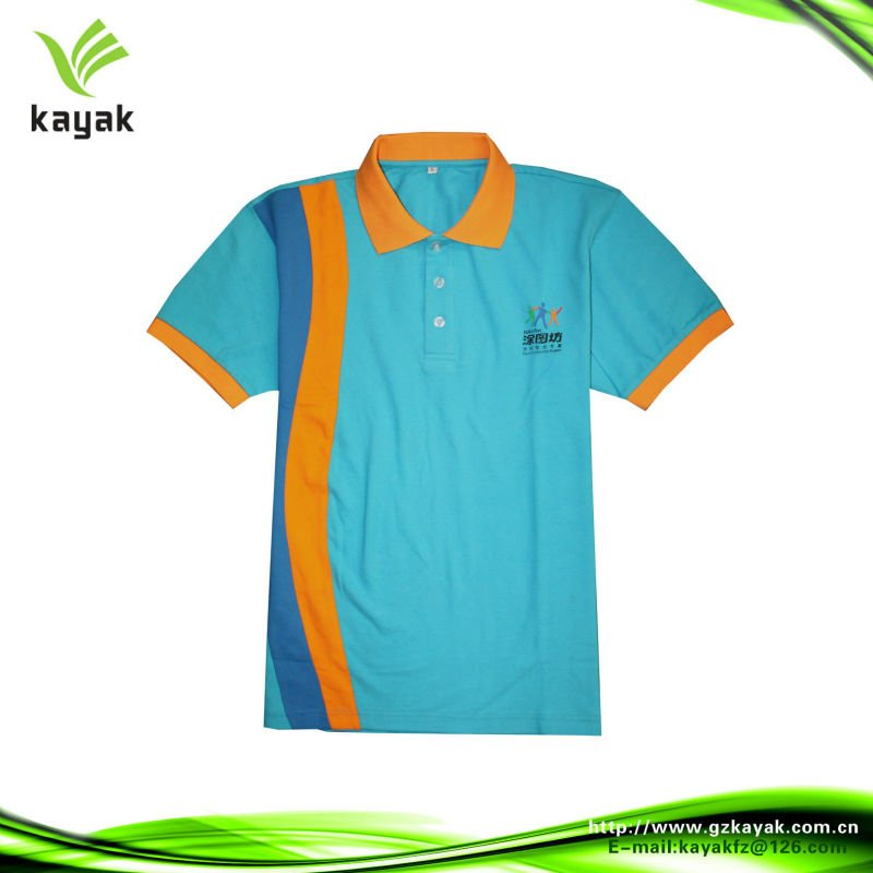 Custom baumwolle Golf polo-shirt design