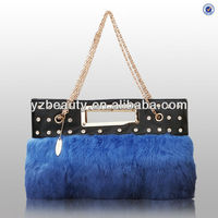 Made in China fashion cow hair leather handbags