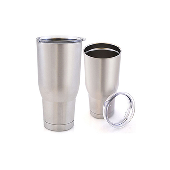 30oz reusable double wall insulated vacuum stainless steel coffee thermos cup