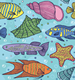 Small MOQ Cutstom digital printing UV50+ Polyester Spandex Swimwear Fabric for children swimsuit