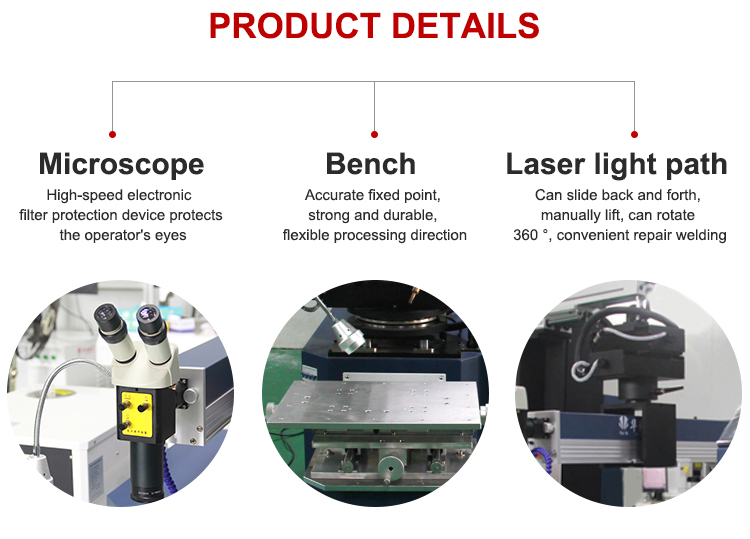 2020 Nóng Bán 300W Laser Khuôn Máy Hàn Cho Khuôn Khuôn Sửa Chữa