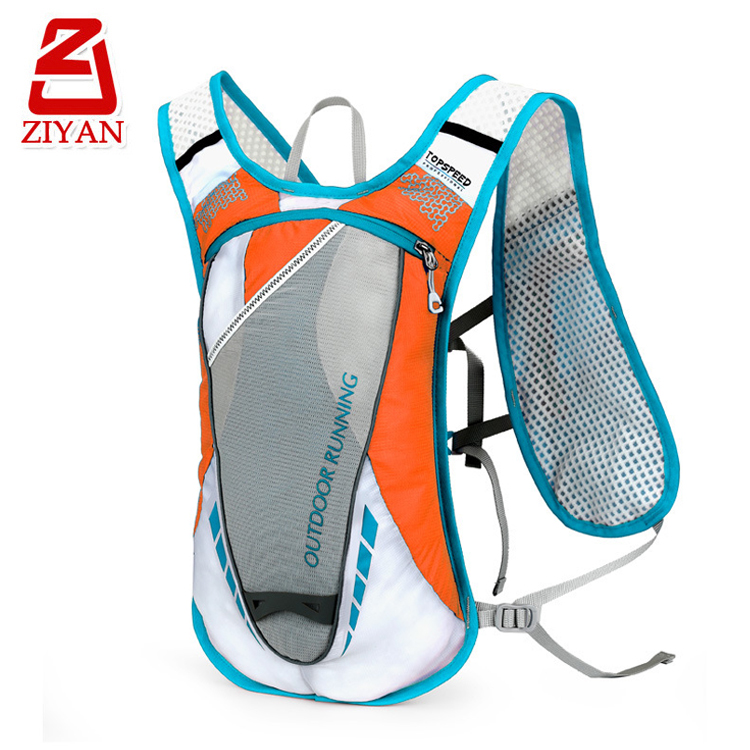 Breathable outdoor running water bladder backpack ultra light bicycle cycling camelback hydration pack with phone pockets