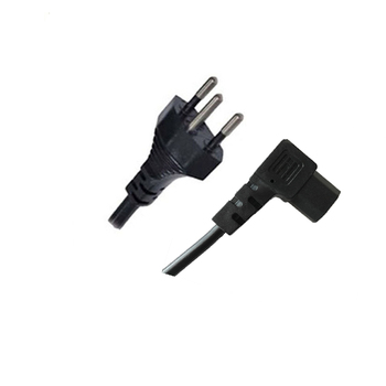 Hot sale south africa 110v-250v british uk 6a nf power cable cord