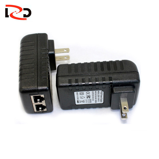 New Product 500M HomePlug AV Powerline <strong>Adapter</strong> with PoE Injector