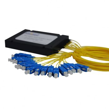 Fiber optic PON+DWDM module