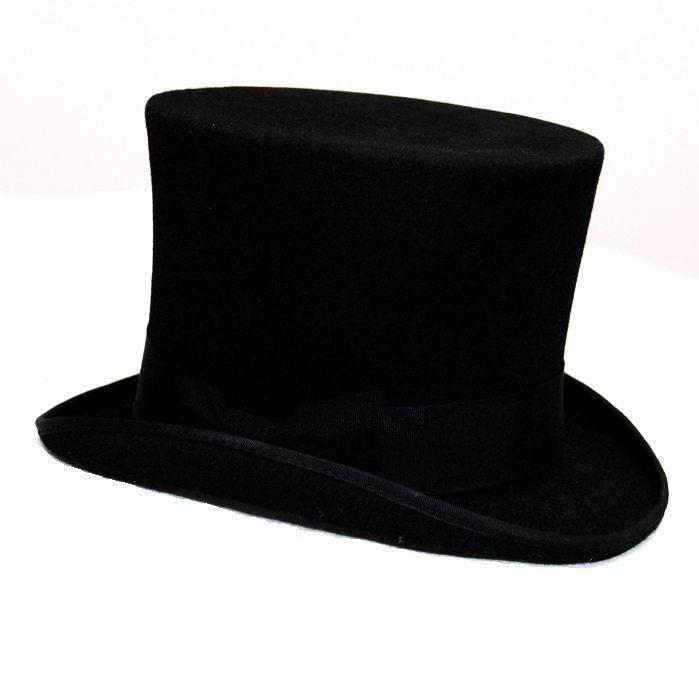 Compre Al Por Mayor 13.5cm 5.3inch Negro Sombrero Steampunk DIY ... df944ce2f6d