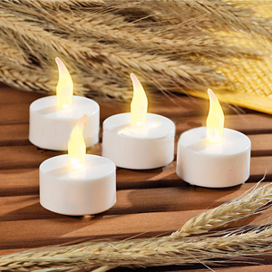 Flameless LED Tea Light Candle Lamp Wax LED Candle Light for Wedding Decorations