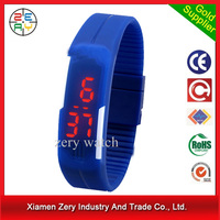 R0775 2016 spor top quality silicone led watch