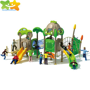 Family of childhood climbing tunnel outdoor playground equipment