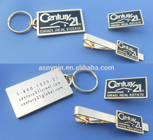 custom key chain/lapel pin/tie clip with company logo corporate gifts for Israel