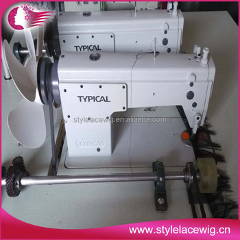 Industrial Three Head Hair Weaving Sewing MachineHair Weft Machine Gorgeous Hair Weave Sewing Machine
